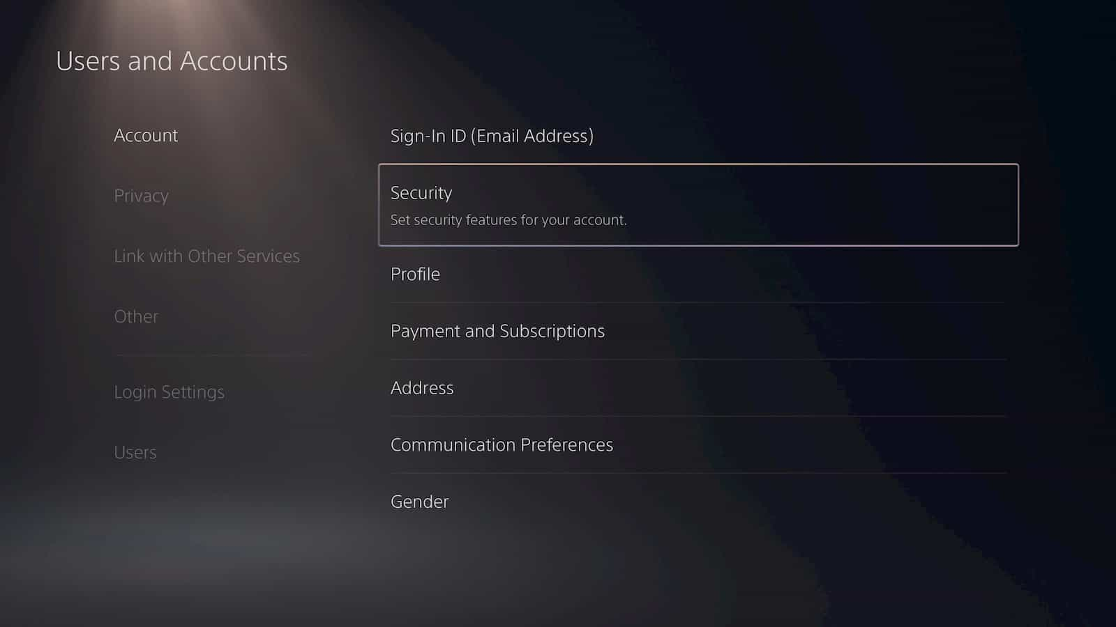PS5 Two Factor Authentication 6