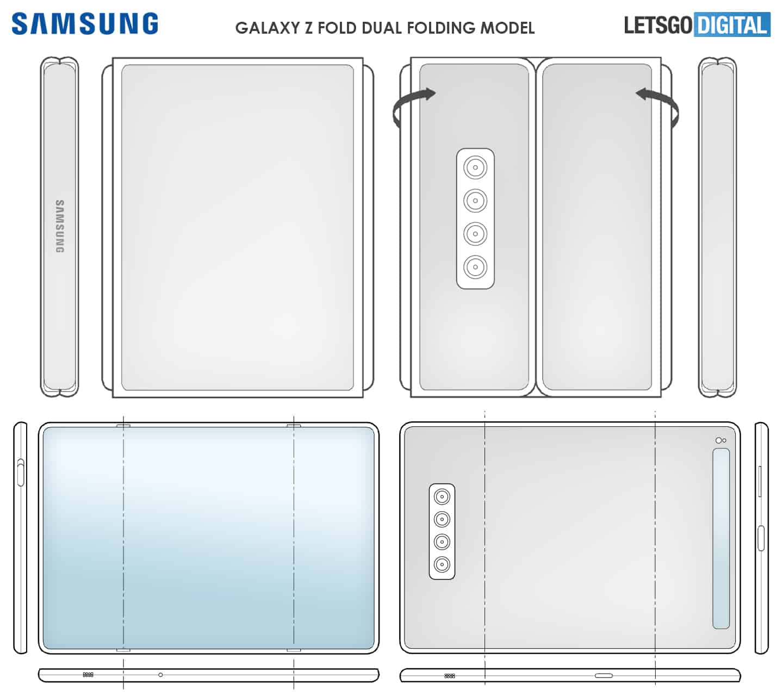 Samsung tri fold patent 1