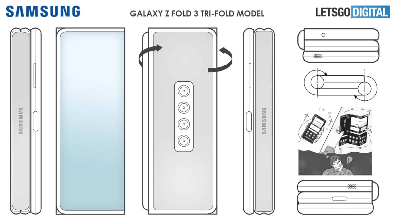 Samsung tri fold patent 2