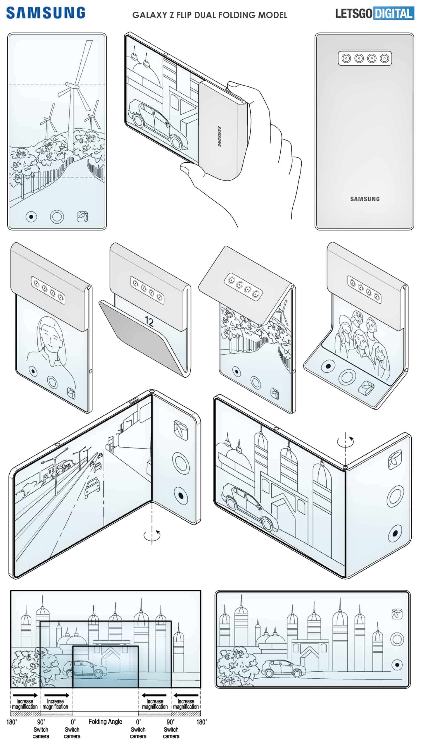 Samsung tri fold patent 3
