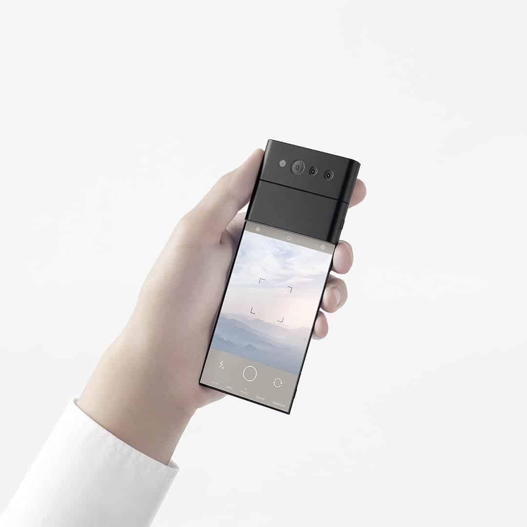 Oppo 'Slide-Phone' Unfolded