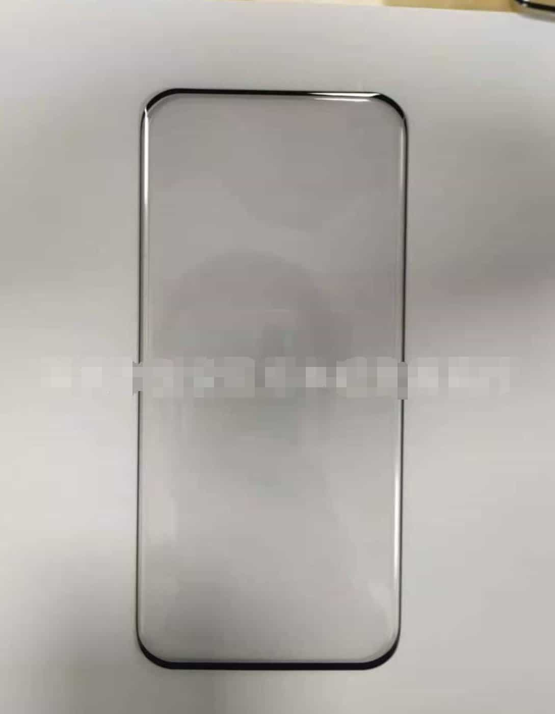 Xiaomi Mi 11 front panel or tempered glass screen protector leak