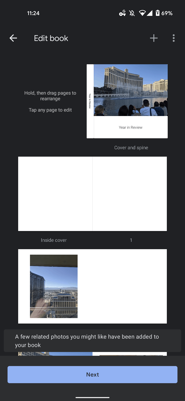 google photos photo book