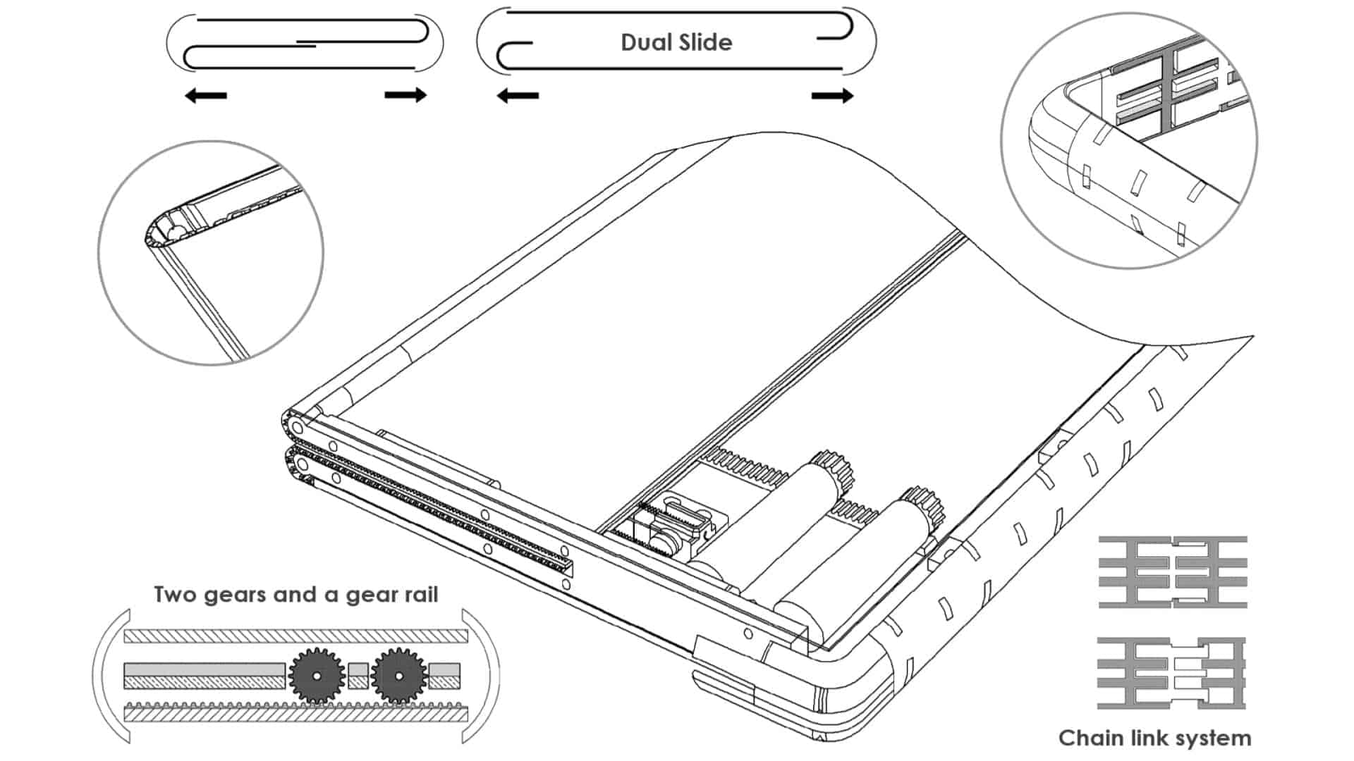 02 Dual Sliding Smartphone Samsung patent from LetsGoDigital