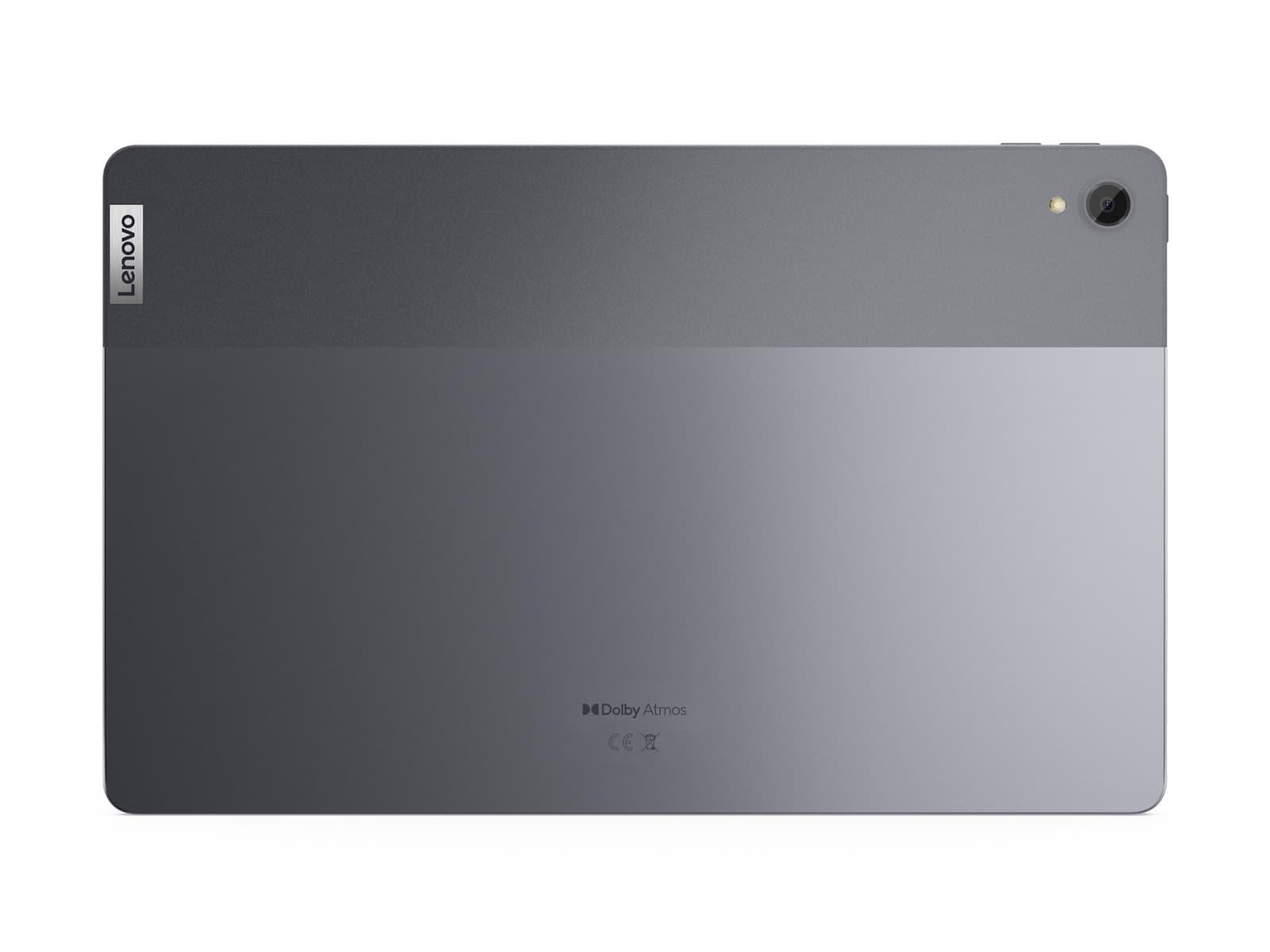 03 for CES Embargoed Lenovo Tab P11 Rear View no folio Slate Grey