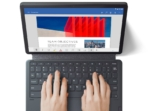 05 -for CES-Embargoed- Lenovo Tab P11_keyboard_top_view_Slate Grey