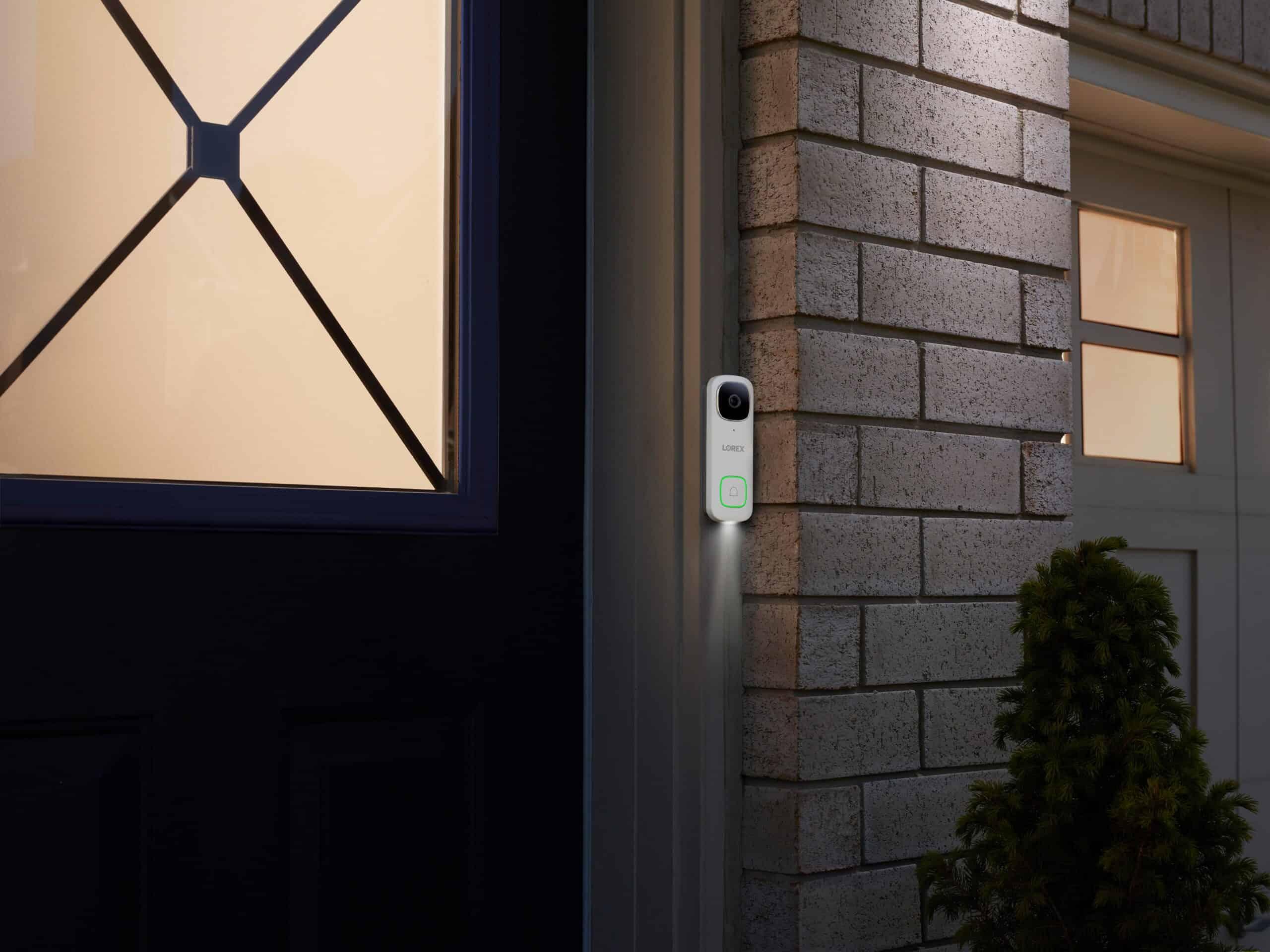2K doorbell lifestyle image