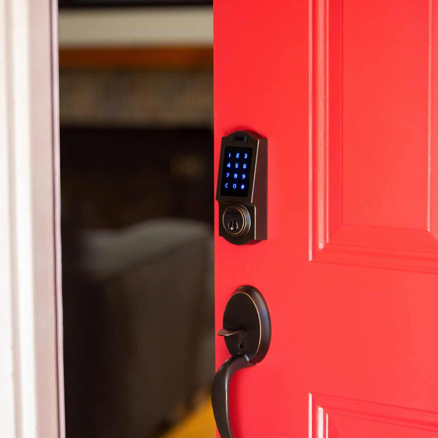 BenjiLockByHampton Tuscan Bronze Fingerprint Door Lock 010 1