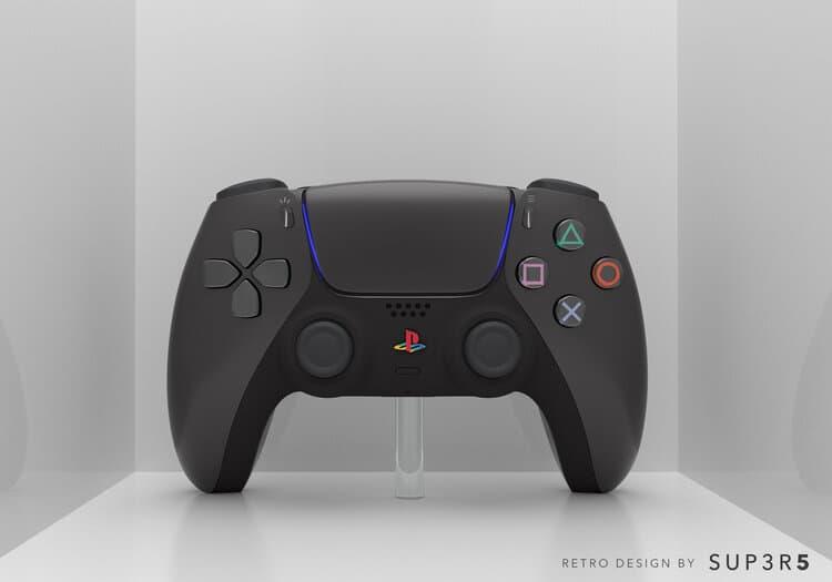 Custom PS2 Themed PS5 1