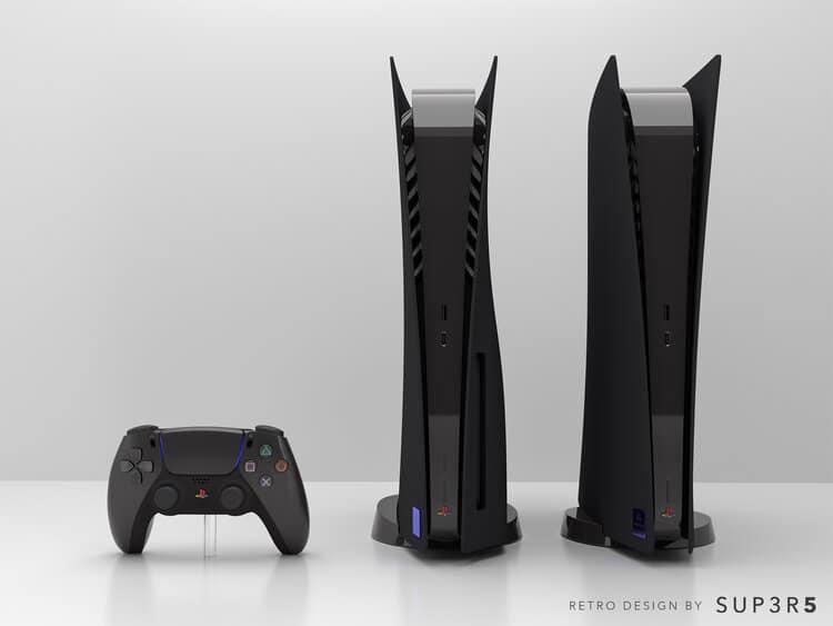 Custom PS2 Themed PS5 3
