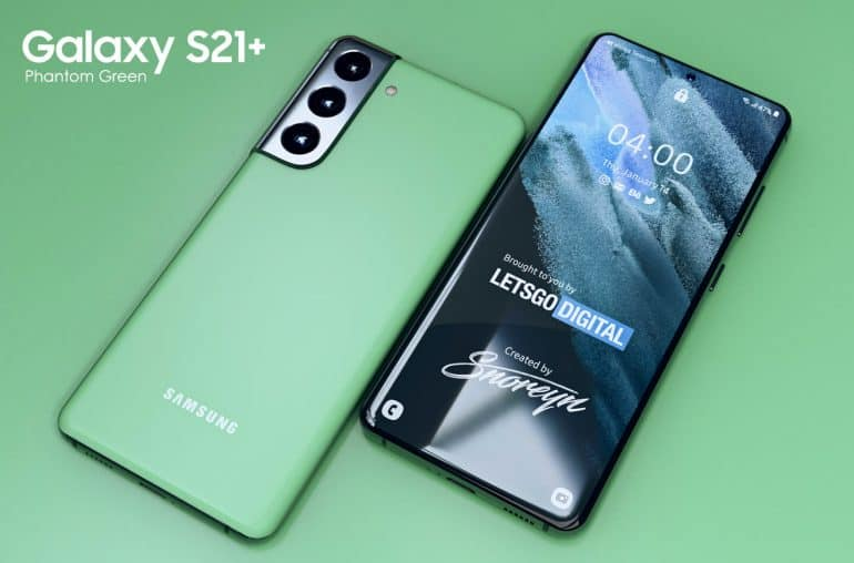 Galaxy S21 Phantom Green Letsgodigital 1