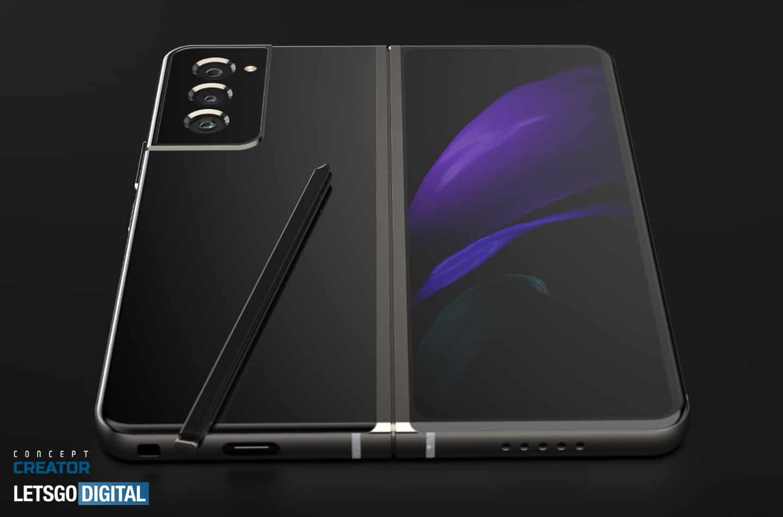 Galaxy Z Fold 3 concept video image 3
