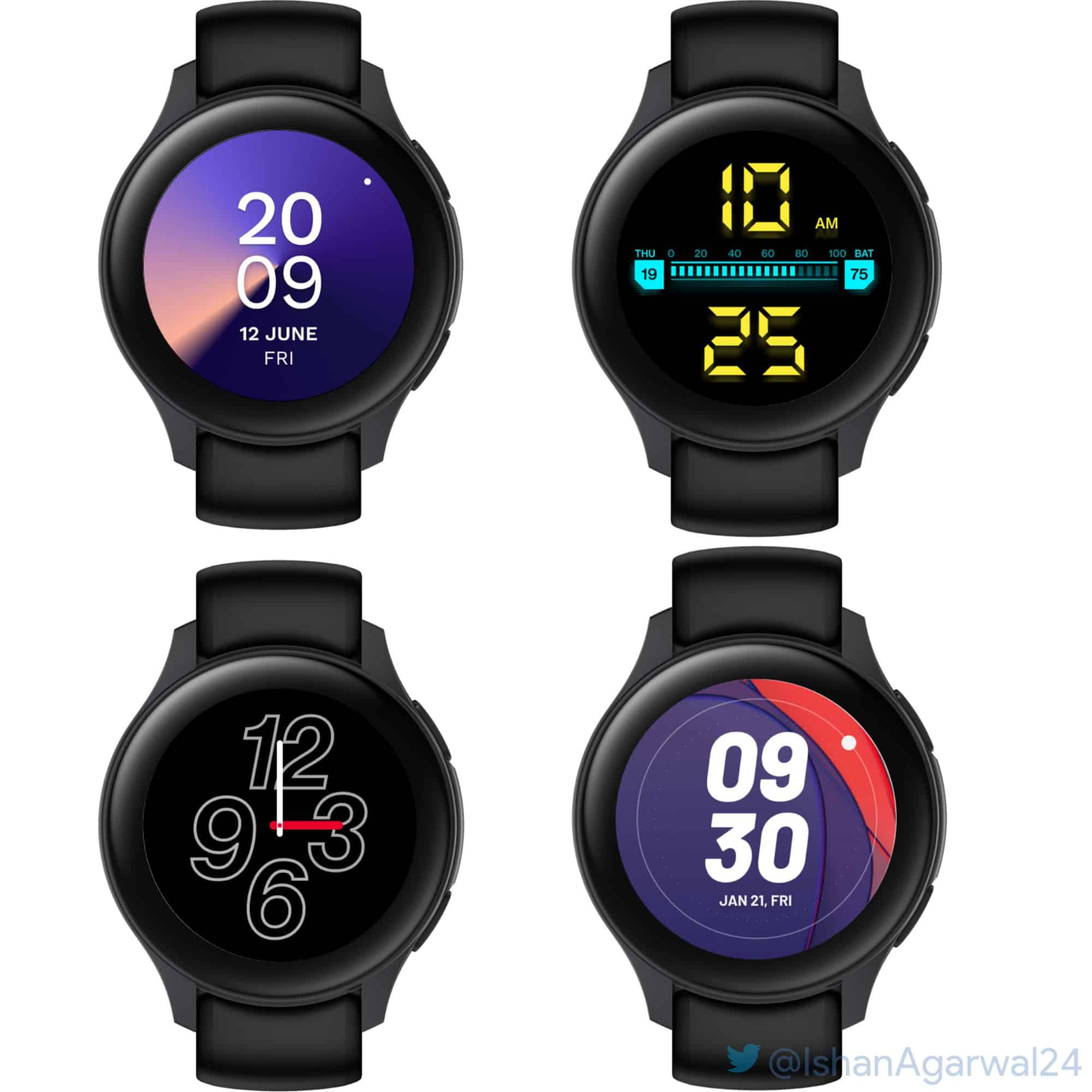 Possible OnePlus Watch design and UI 1