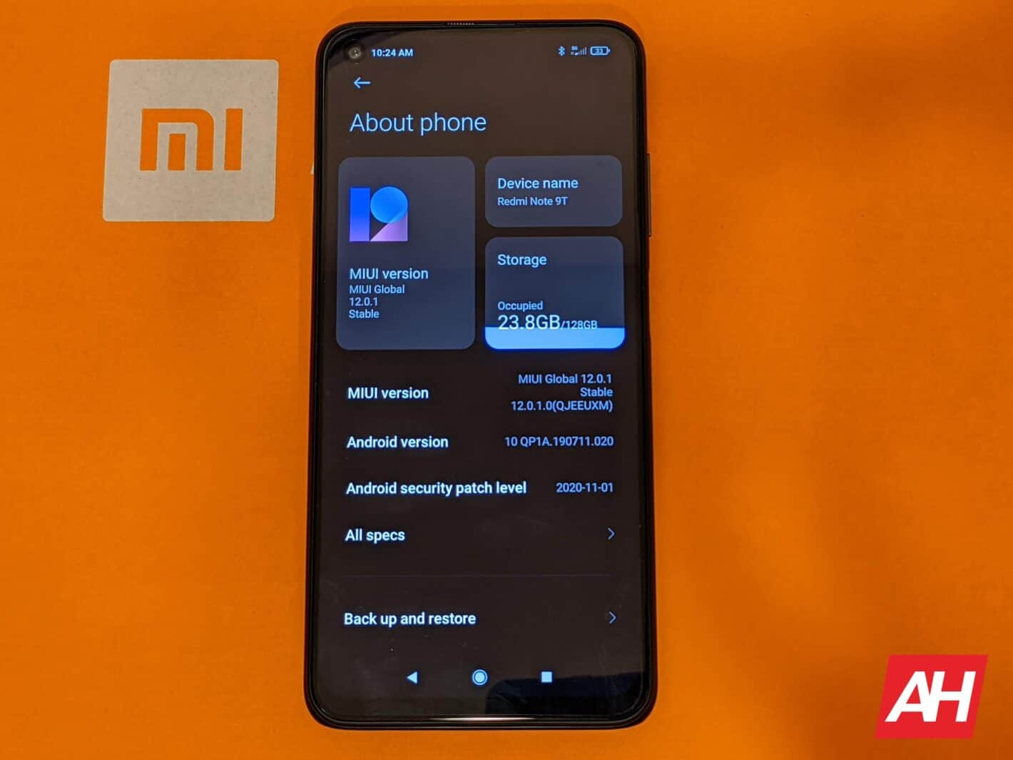 Redmi Note 9T AH HR Software