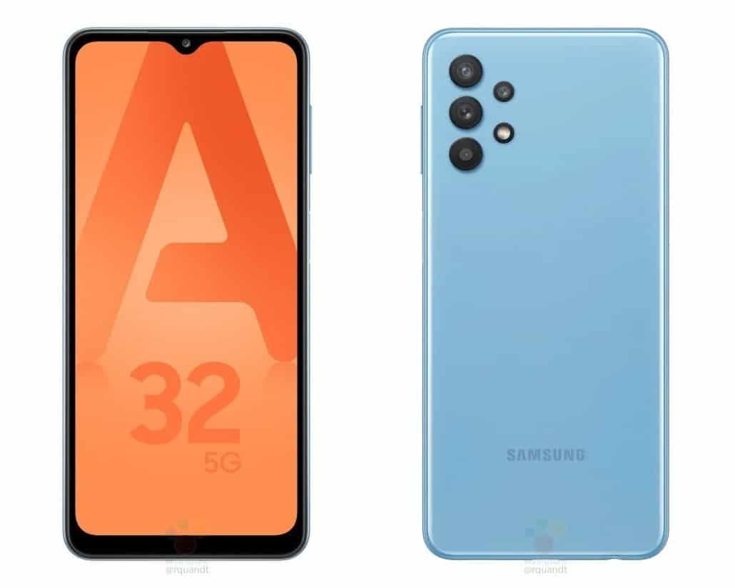 Samsung Galaxy A32 leaked renders