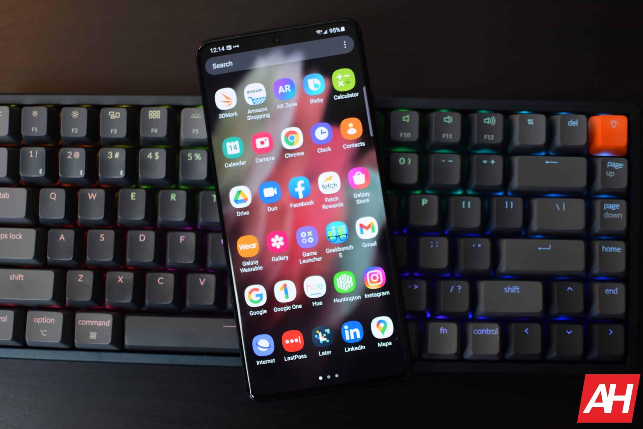 Samsung Galaxy S21 Ultra Hands On AH 1