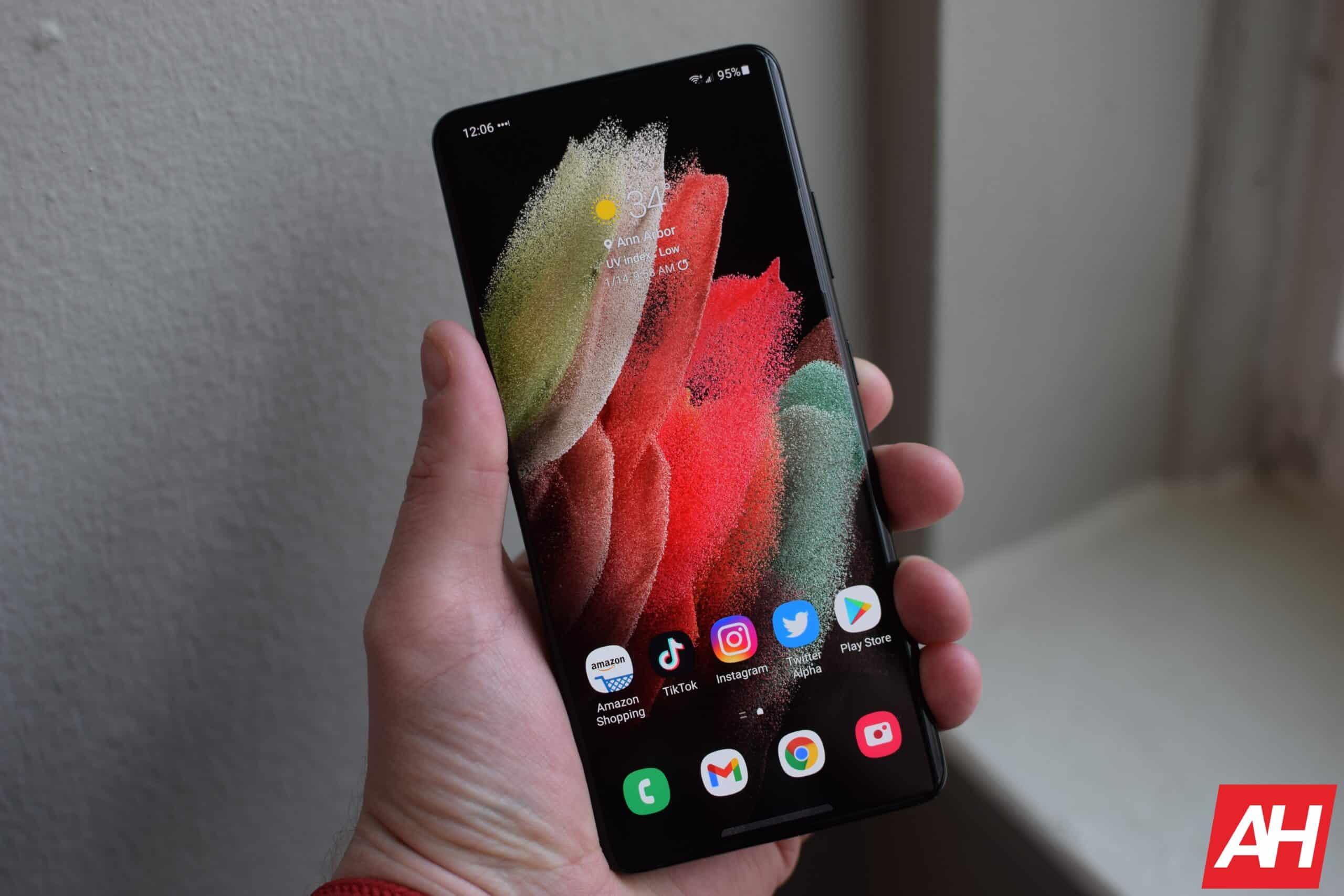 Samsung Galaxy S21 Ultra Hands On AH 3