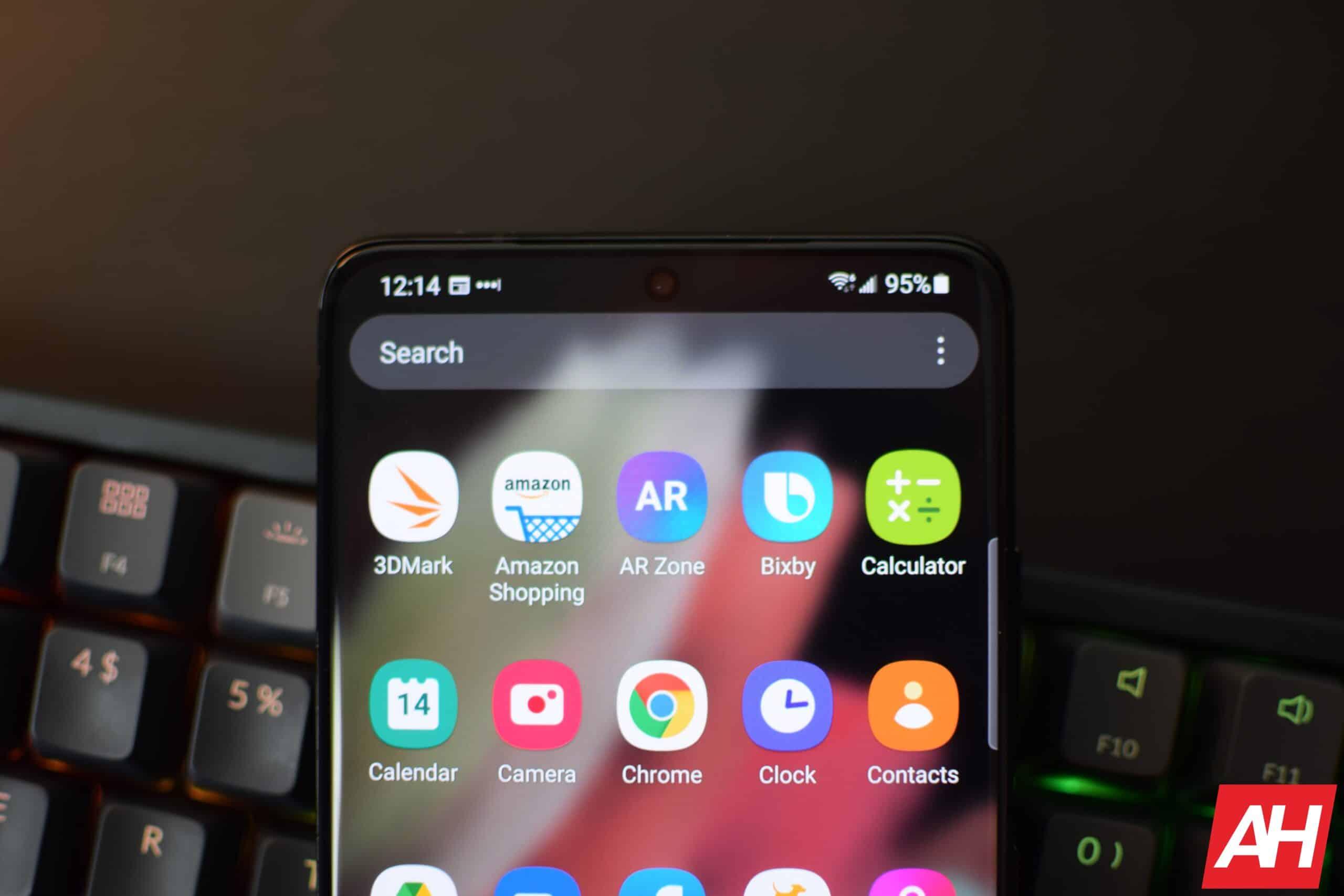 Samsung Galaxy S21 Ultra Hands On AH 5