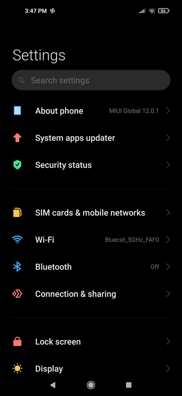 Screenshot 2021 01 04 15 47 47 154 com android settings
