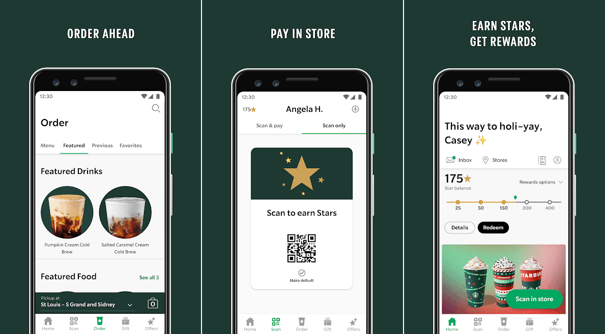 Starbucks best coffee android apps