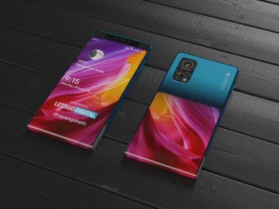 Xiaomi design patent slides rolls 3