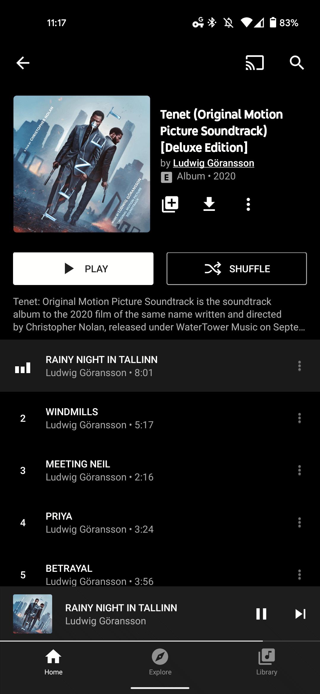 YouTube Music theme new 3
