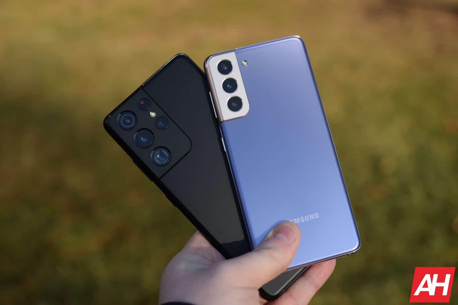 Phone Comparisons: Samsung Galaxy S21 vs S21+ vs S21 Ultra