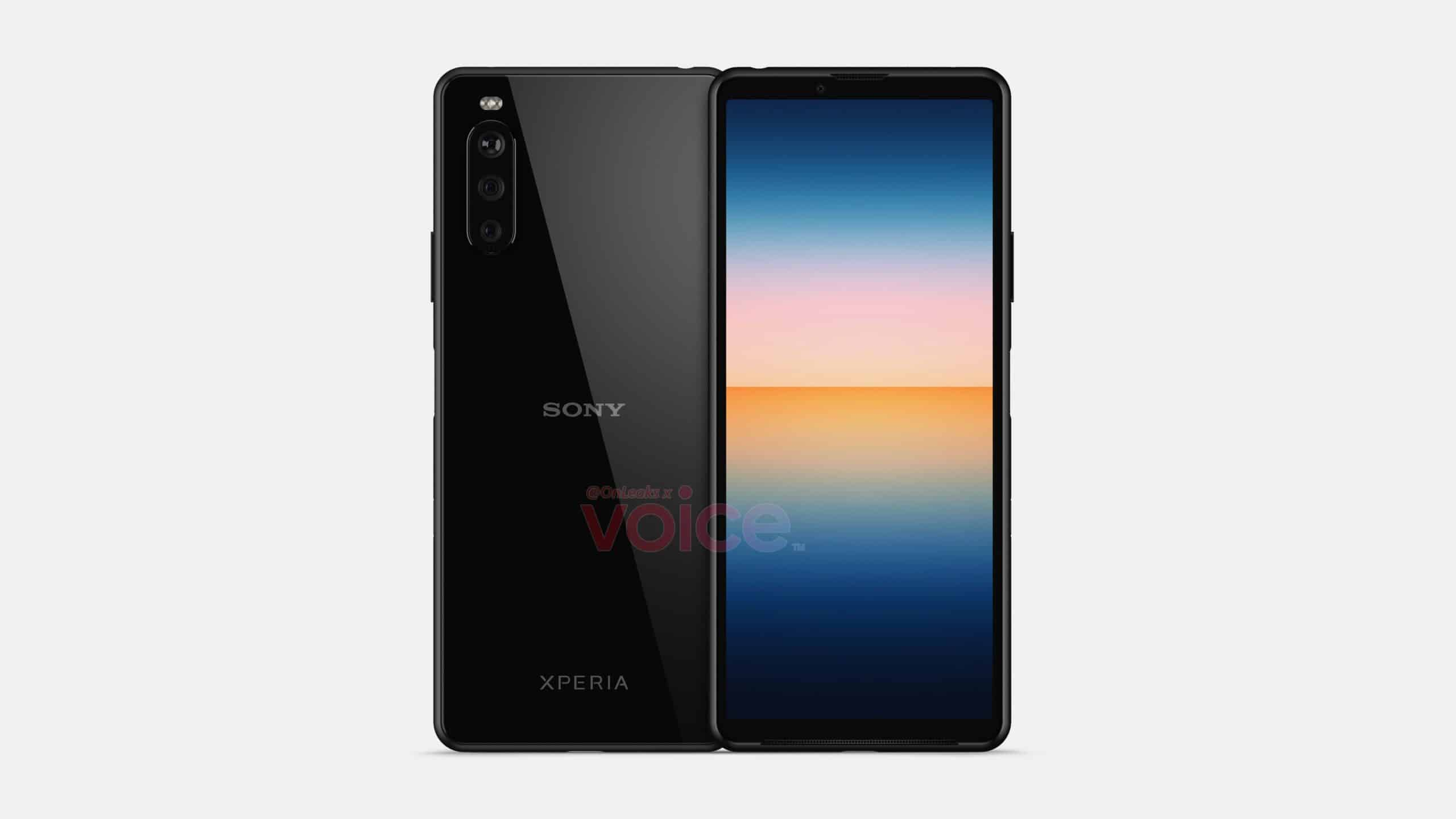 sony xperia 10 III front