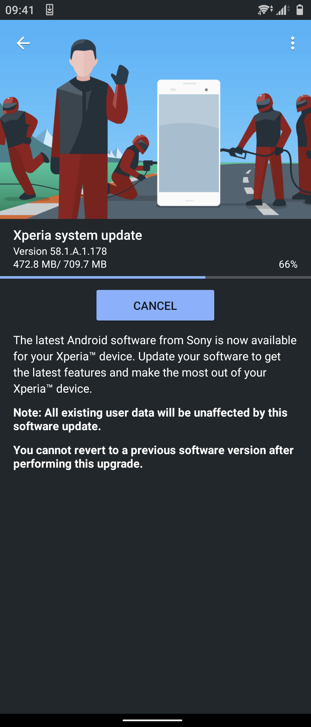 sony xperia 5 ii android 11 update