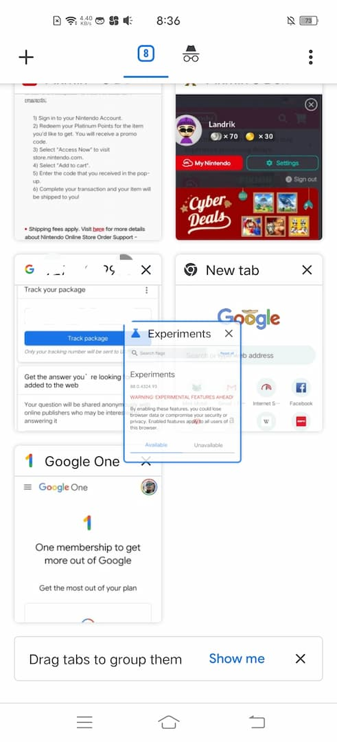 10 how to tab groups android