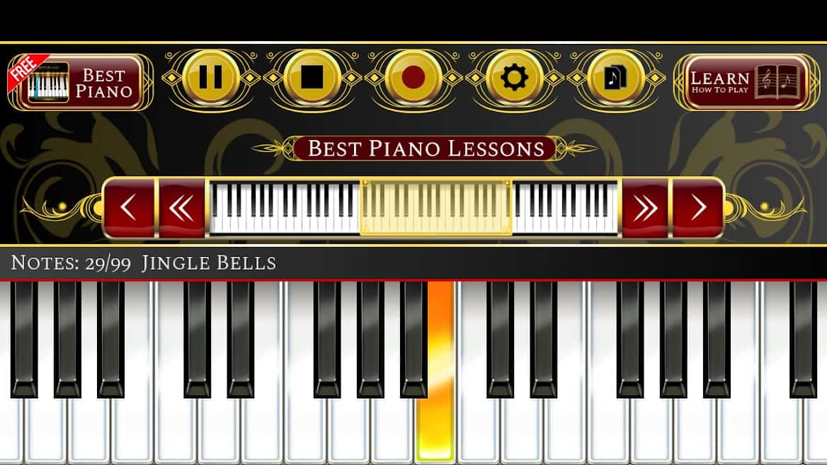 Best piano lessons apps android