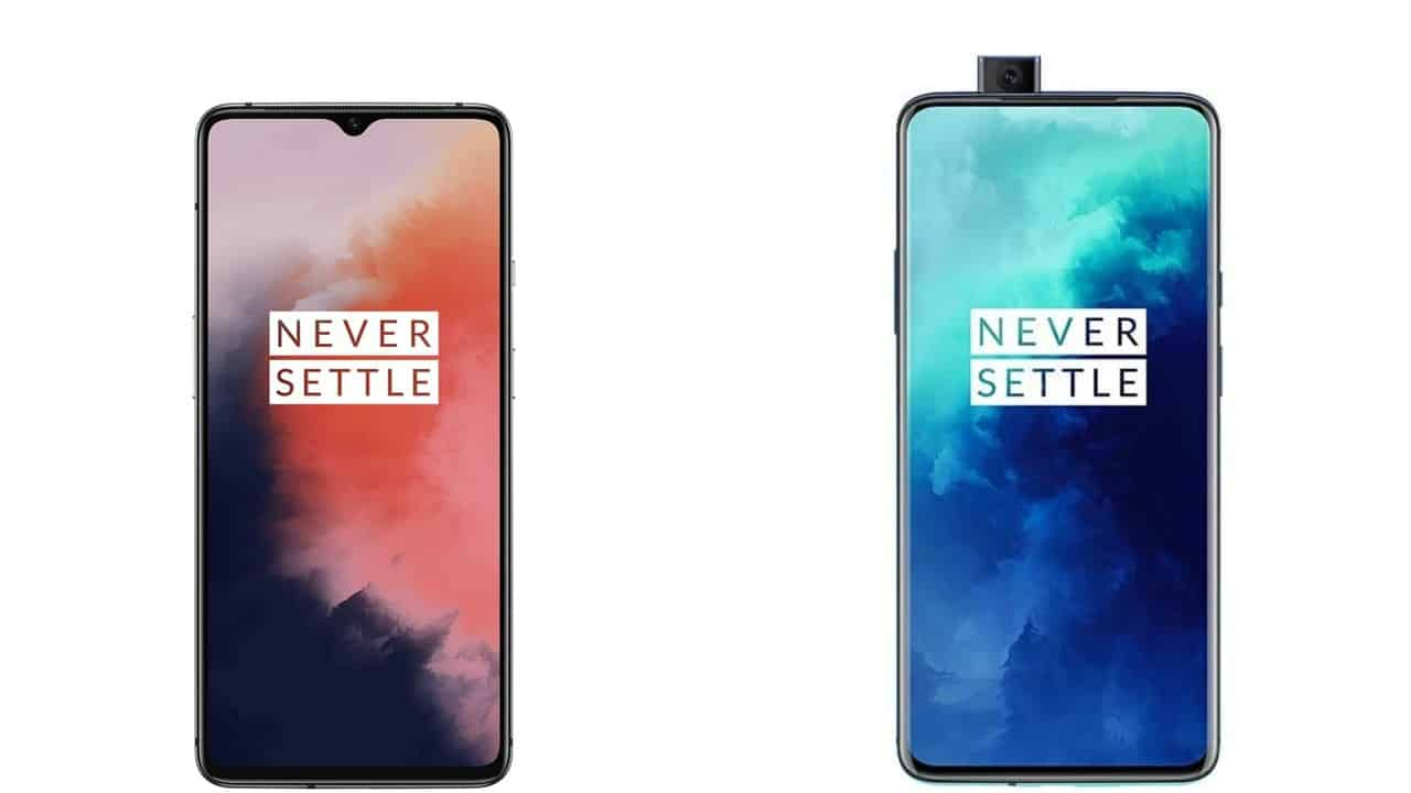 OnePlus 7T and 7T Pro render