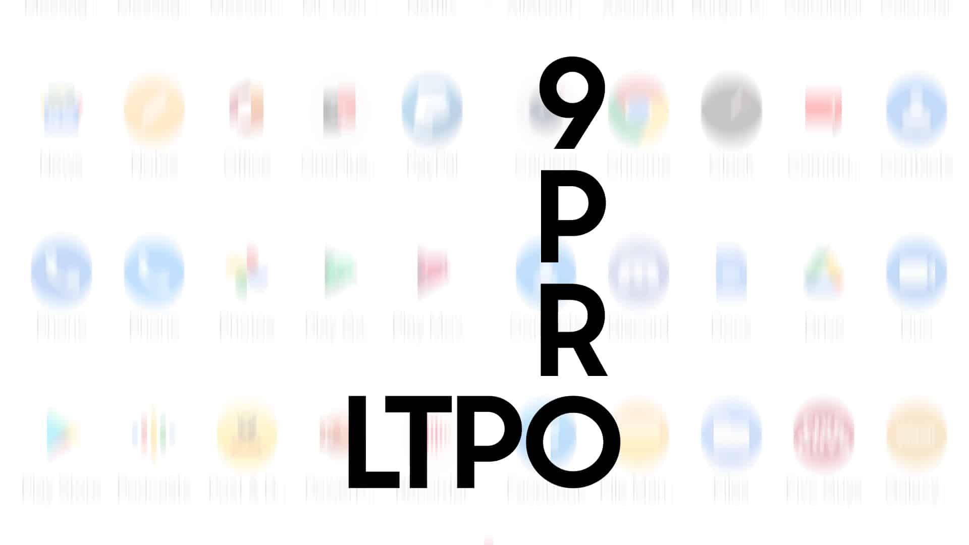 OnePlus 9 Pro LTPO display