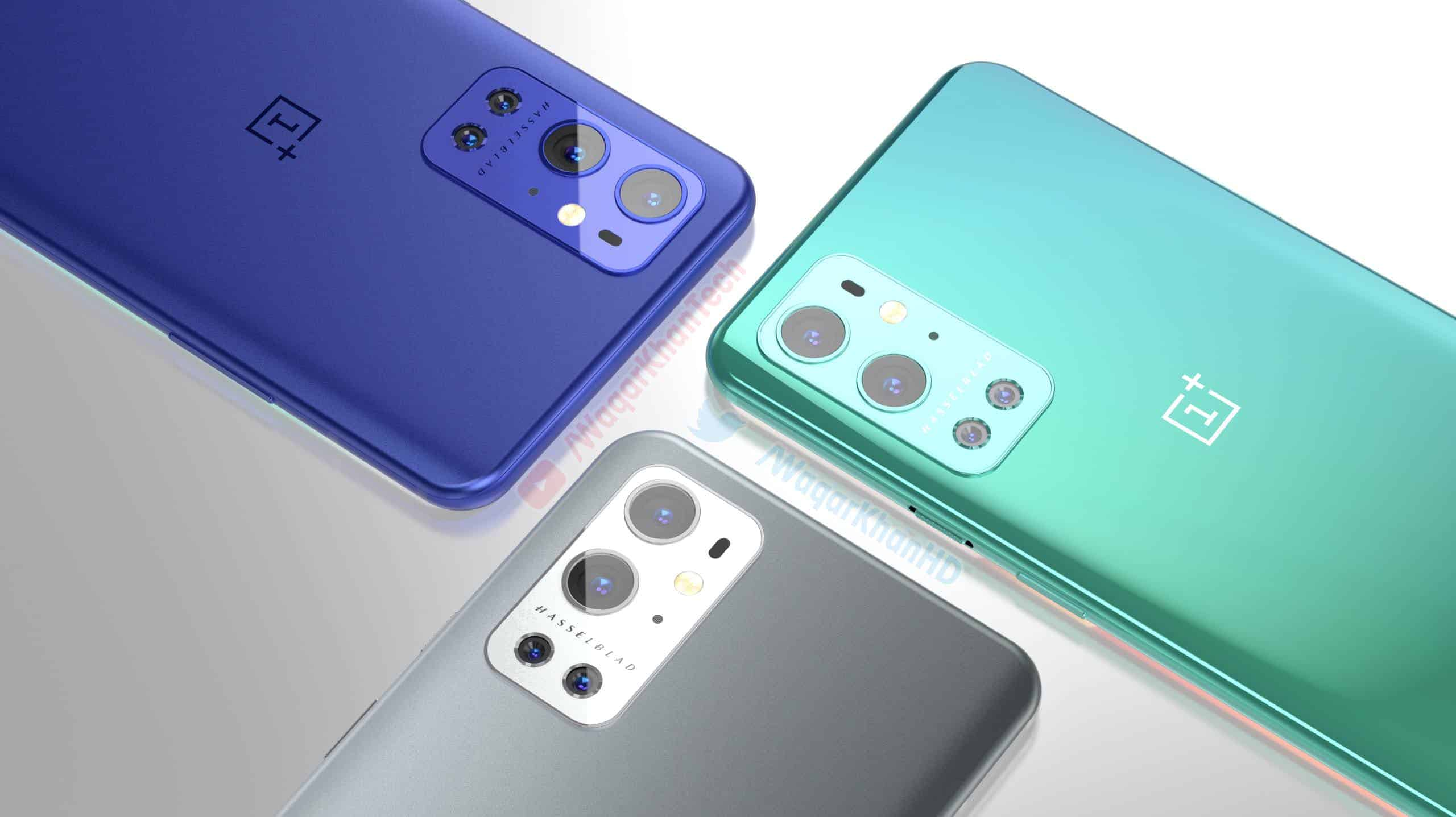 Concept Renders Envision OnePlus 9 Pro In Four Different Colors