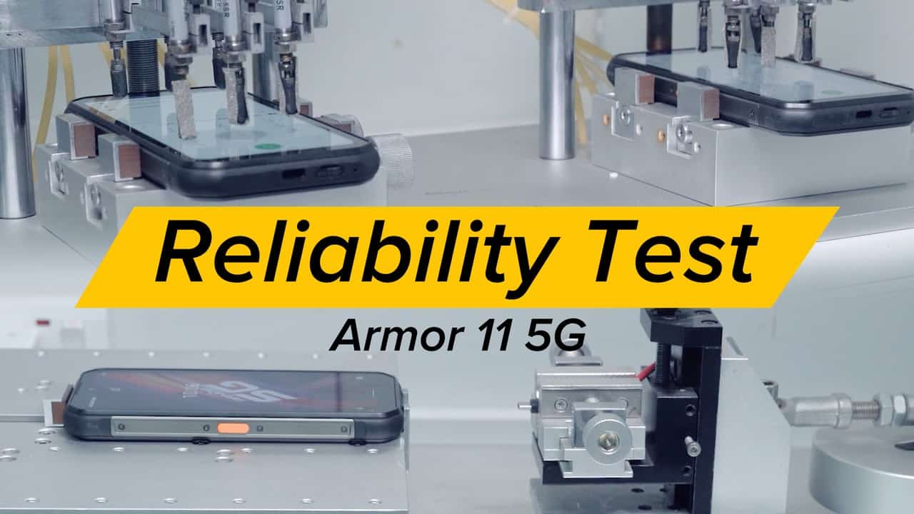 Ulefone Shows Armor 11 5G Factory Quality Tests: Video thumbnail