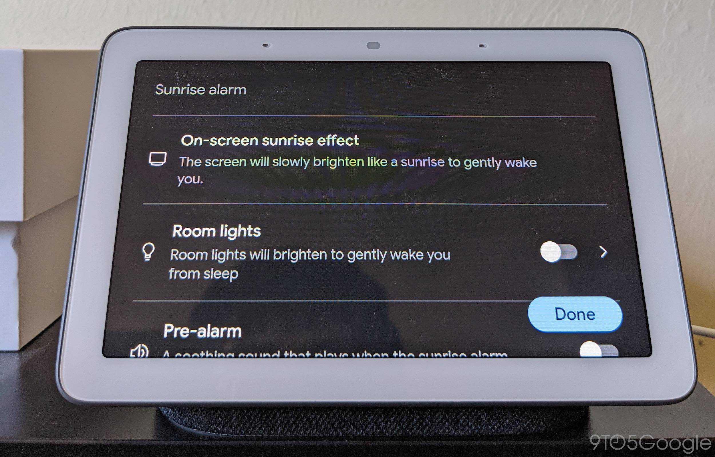 new Nest Hub alarms 3