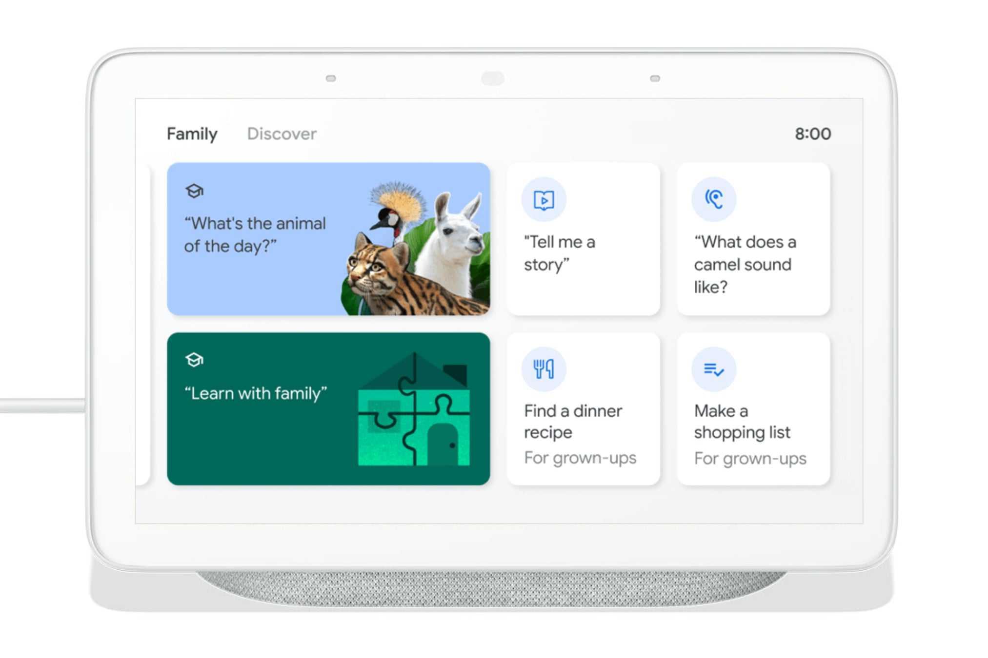 smart display family tab 1