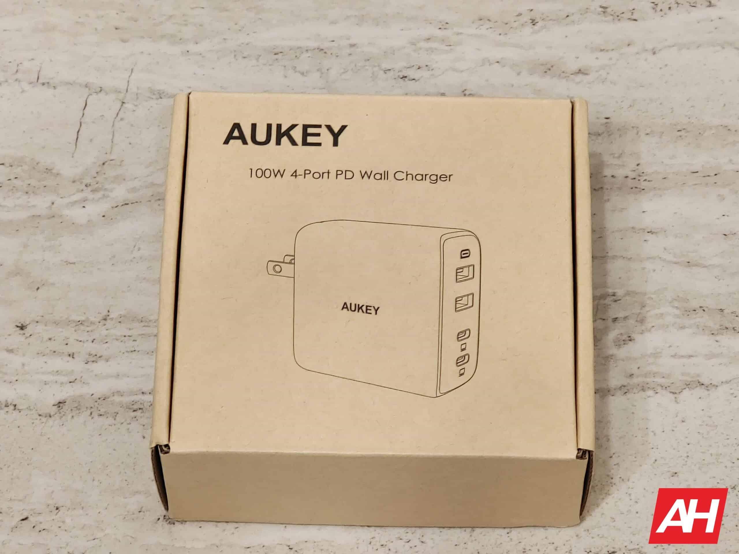 Aukey GaN Charger AH HR HW1