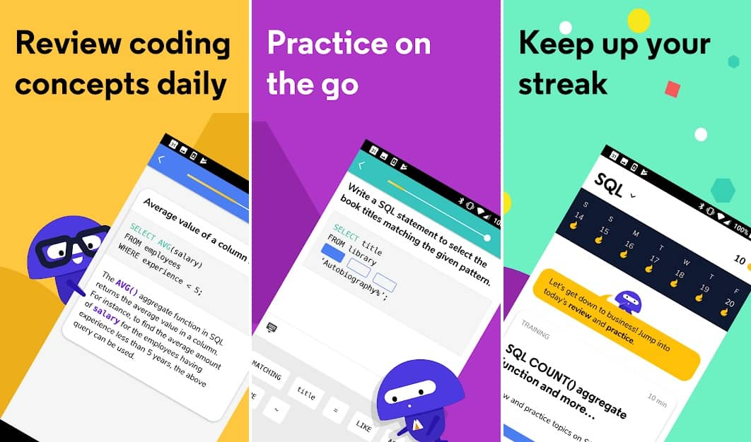 Codecademy coding app