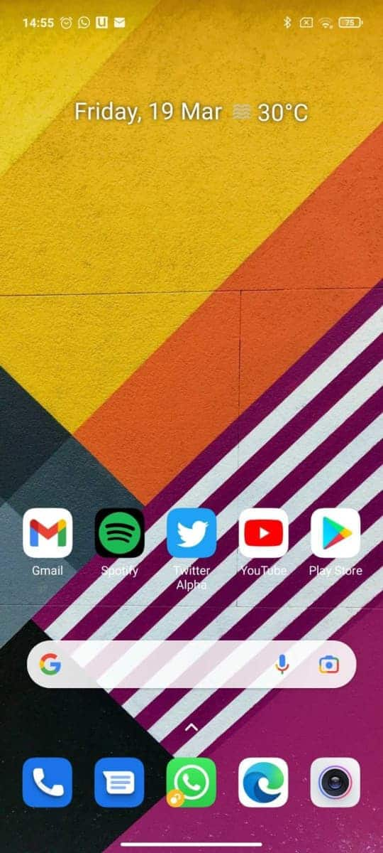 Google Lens search bar widget from Android Police