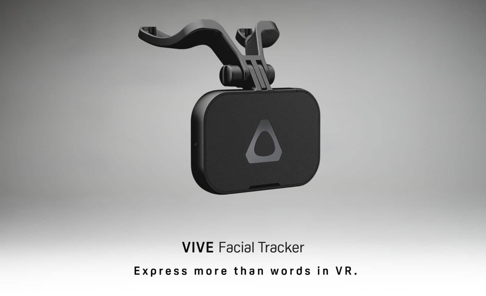 HTC VIVE Facial Tracker device