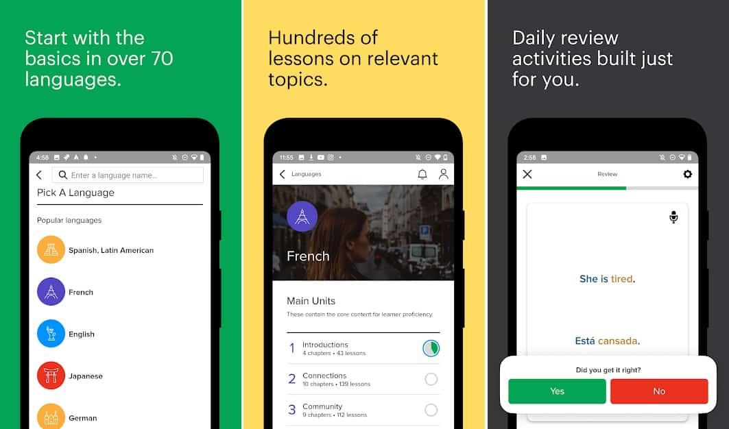 Mango languages app