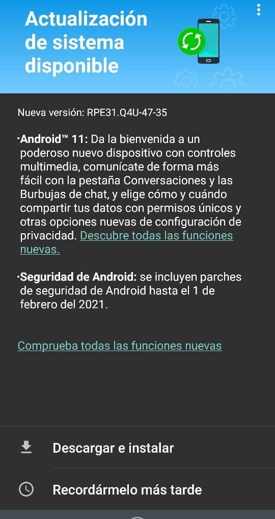Moto G8 Power Android 11