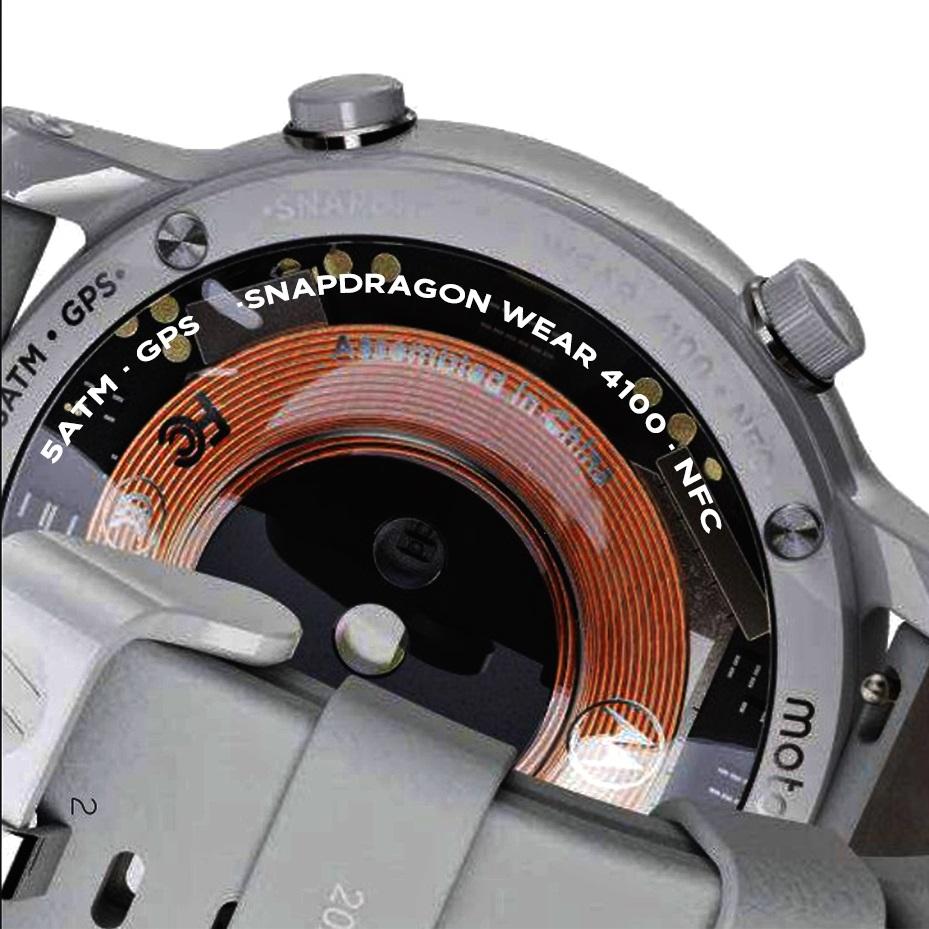 Motorola watch snapdragon wear 4100