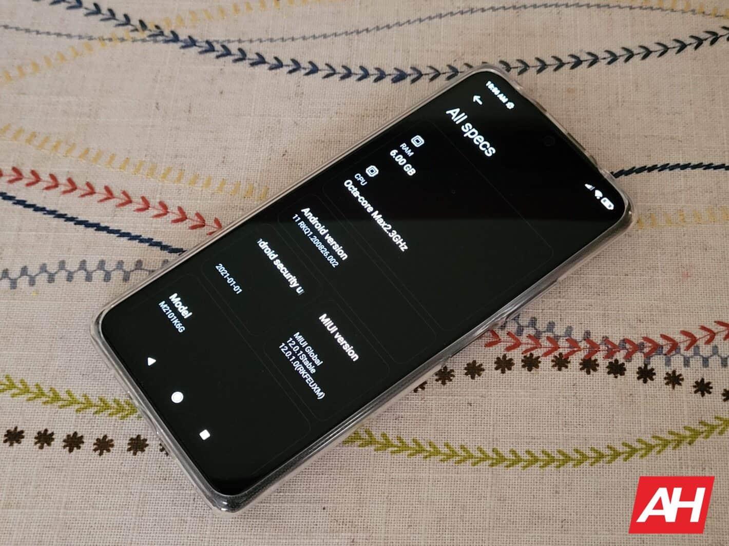 Redmi Note 10 Pro AH HR Performance