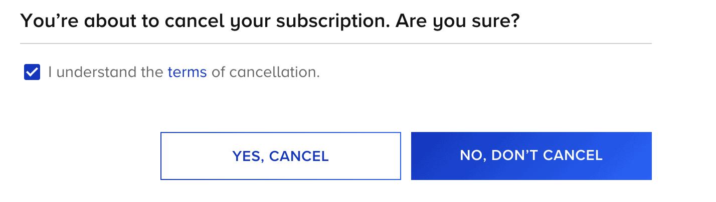 cancel paramount plus