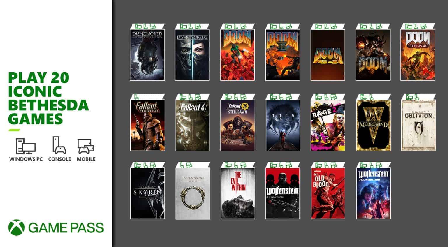 Skyrim Xbox Game Pass 2