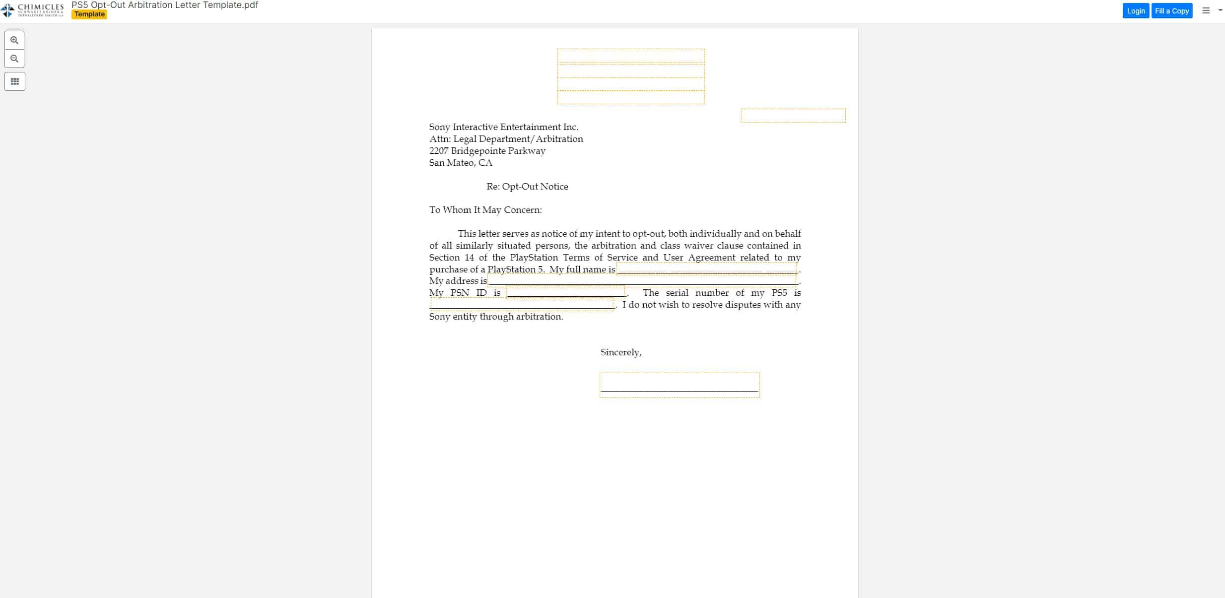 Sony PS5 Arbitration 3