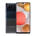 05 Galaxy A42 5G_Prism Dot Black_Front_Back