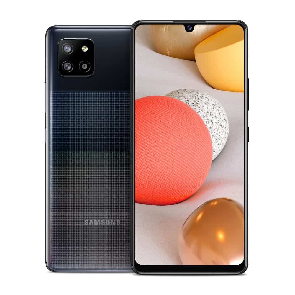 05 Galaxy A42 5G Prism Dot Black Front Back